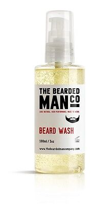 Beard Shampoo Conditioner in one Male Grooming Softens Conditions Hair 100ml