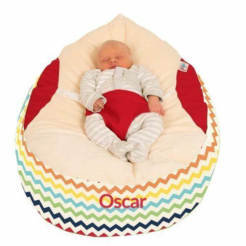 Gaga™ Cuddlesoft Chevron Baby Beanbag Choose your colour