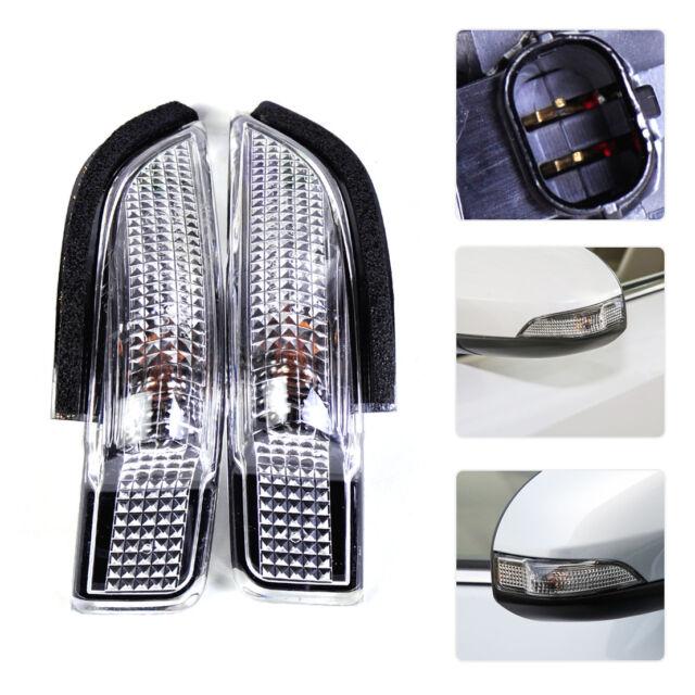 2x Side Mirror Indicator Turn Signal Light Lamp Fit Toyota Camry Avalon Corolla