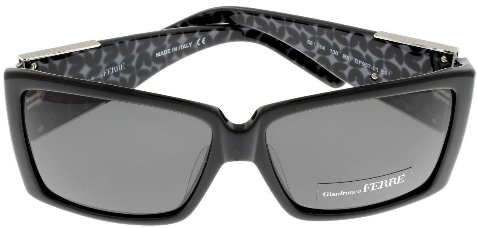72361064def1 Buy Gianfranco Ferre Sunglasses Women Black Palladium Rectangular ...