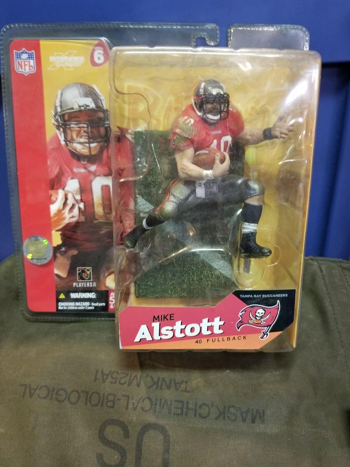 McFarlane Sports NFL Football Tampa Bay Buccaneers Mike Alstott Series 6