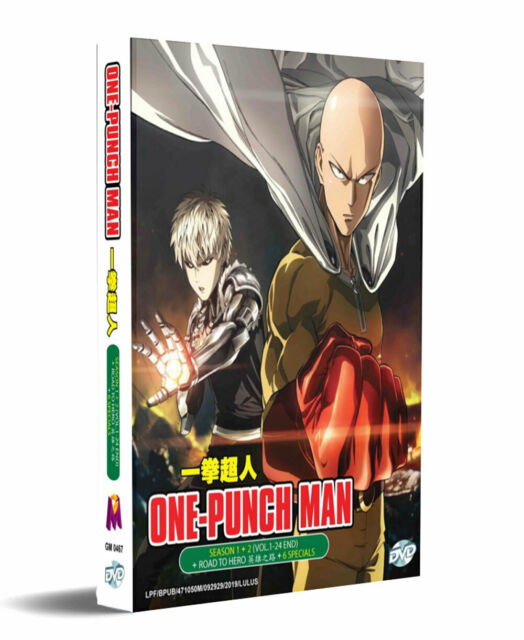 One Punch Man Season 1 2 Full Series Ova 6 Special Dvd In Dual Audio For Sale Online Ebay