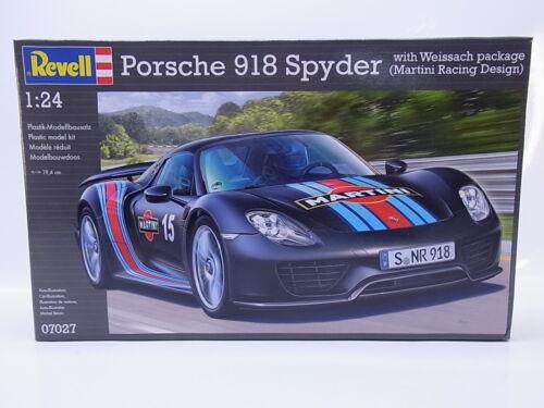 LOT 31745Revell 07027 Porsche 918 Spyder 1:24 Bausatz NEU in OVP