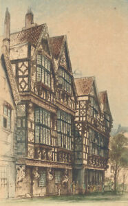 Edward-Sharland-1884-1967-Early-20th-Century-Etching-Bristol-Scene
