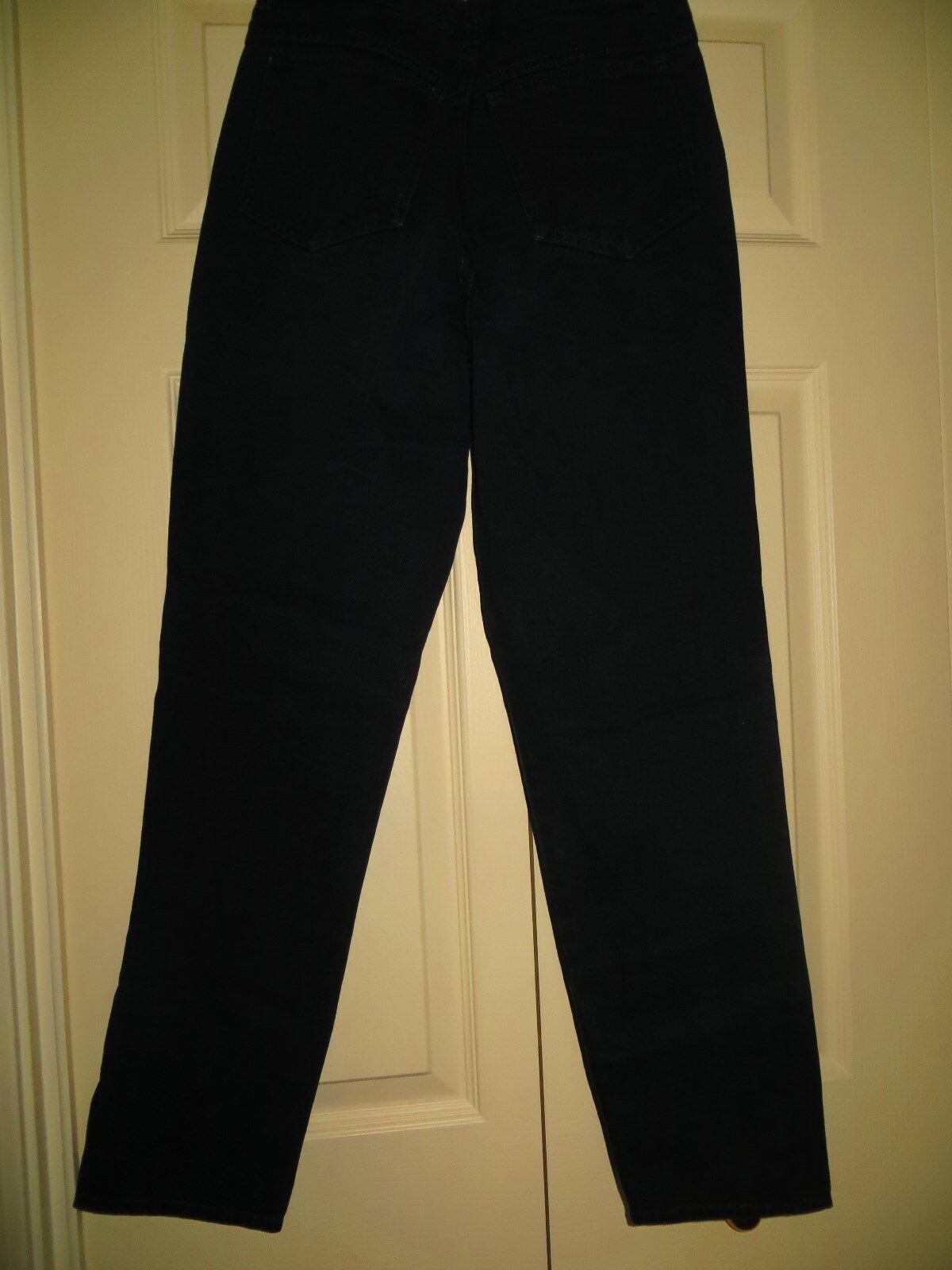 womans skinny jeans CHEMIN DE FER black Vintage 1… - image 3