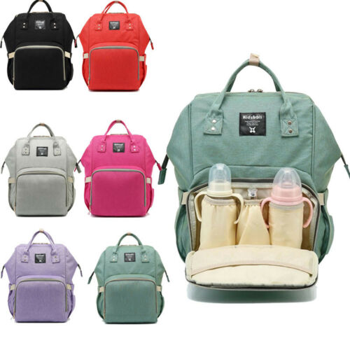 Mummy Outdoor Bottle Handbag Nappy Changing Bags Baby Diapers Backpack