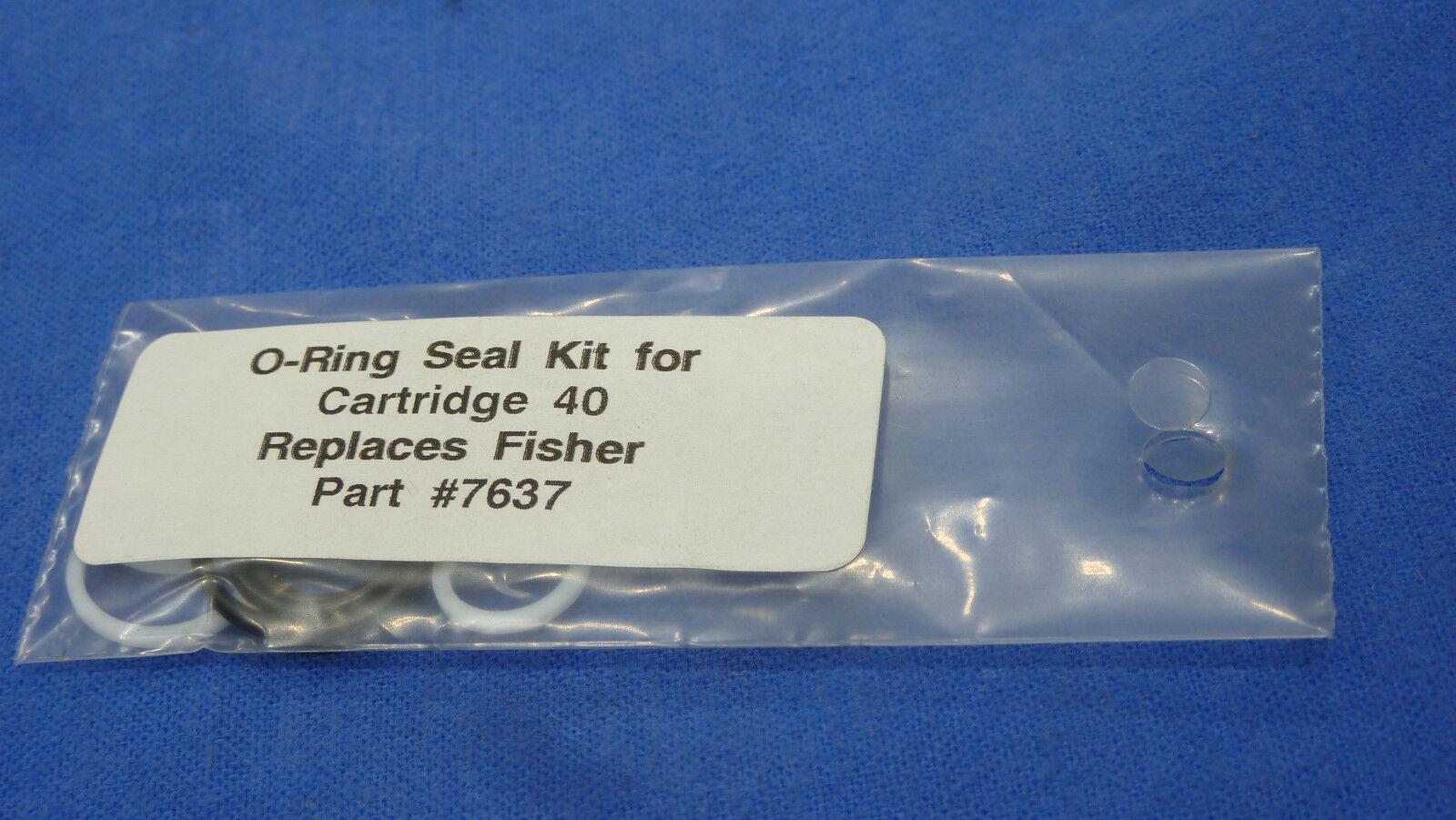 Fisher Snow Plow Fisher 7637 40 Cartridge Valve Seal Kit | eBay