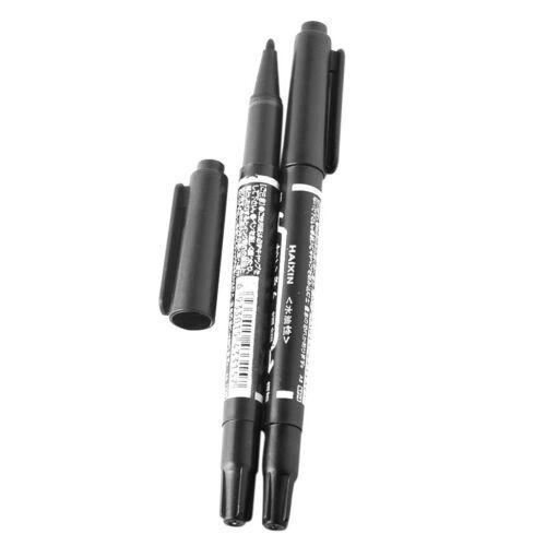 10x schwarzer wasserfester Ölfarbe Markierungsstift