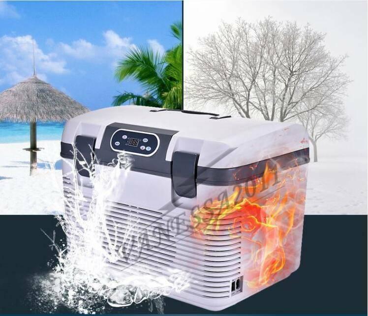 DC12 24V portable 19L Refrigerator Cooler Warmer For voiture Mini voiture Fridges 220V