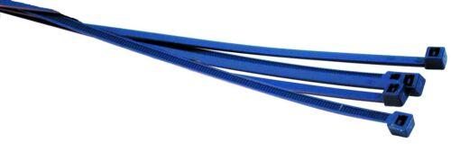 HELLERMAN Tyton Fascette Tenore in metallo blu scuro 390 x 4.8 mm x 100