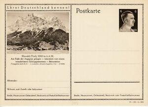 German-Reich-Stationery-P-304-Ehrwald-Tirol