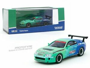Tarmac-Works-1-64-Toyota-Supra-Falken-Tires-Diecast-Car-Model-T64-011-FAL