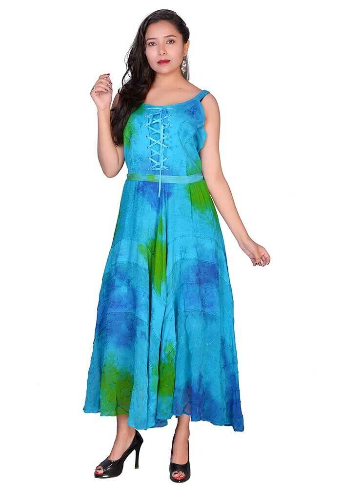 Jordash Dress Sea Grün Größe L
