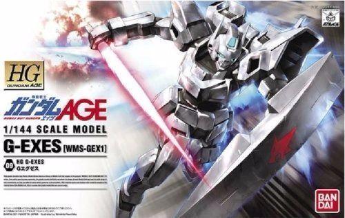 BANDAI 1  144 HG GUNDAM AGE 09 WMS -GEX1 G -EXS Plastic modellllerler Kit NY från japan