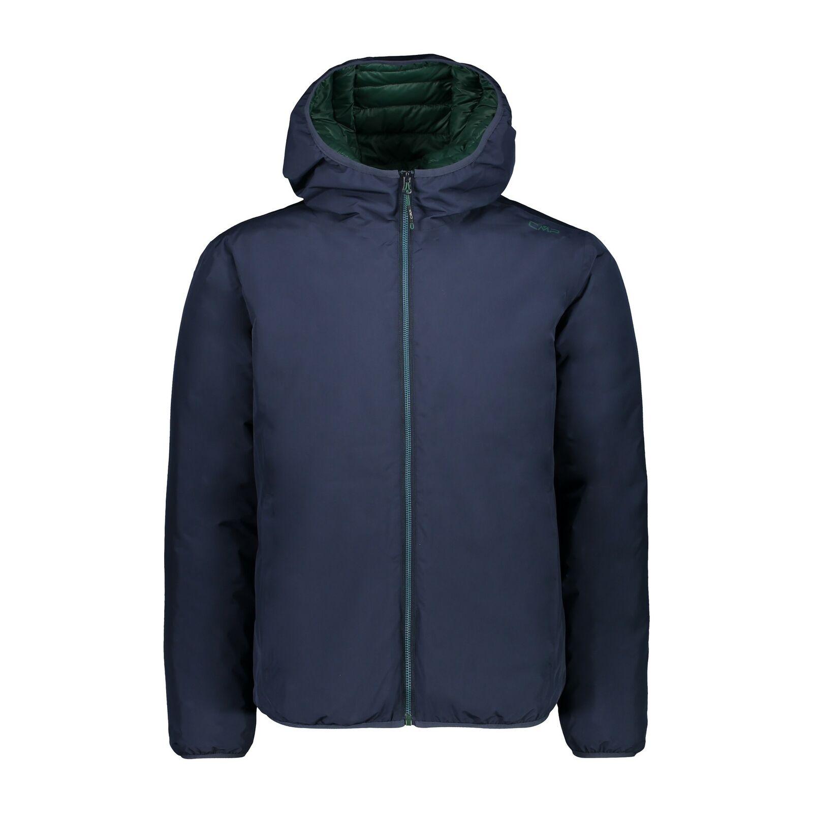 CMP Giacca Giacca Giacca Giacca uomo Jacket Fix Hood Blu Scuro Impermeabile Traspirante 463