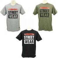 Vision Street Wear Logo T-shirt Tee Skateboarding Skate Men