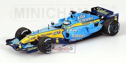 Renault R25 Fisichella 2005 Minichamps Neutral Box 1:43 433050006 Modellino
