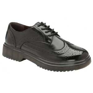 Black Shoes Ingrid Back Office School 6 To Ladies Uk Brogues Dolcis Work wU1RzqxEfx