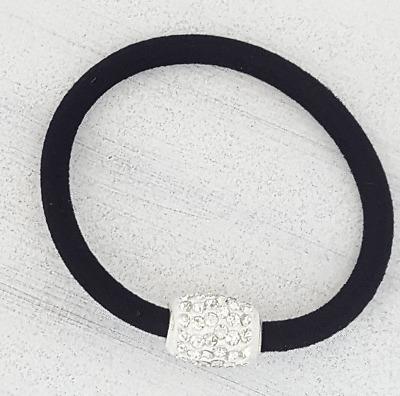 20stk Haargummi Haarband Schwarz Bunt Elastisch Pferdeschwanz Zopfgummi Neu W1Q8