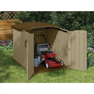 Image is loading Outdoor-Storage-Shed-Pool-Side-Box-Deck-Patio-  sc 1 st  eBay & Outdoor Storage Shed Pool Side Box Deck Patio Bench Tool Container ...