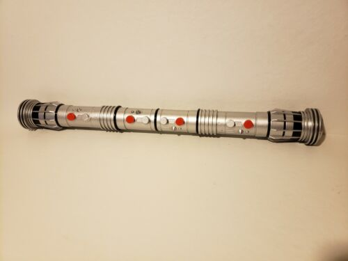 "62/"" long Toy Star Wars cosplay H9 2011 Hasbro Darth Maul Light Saber"
