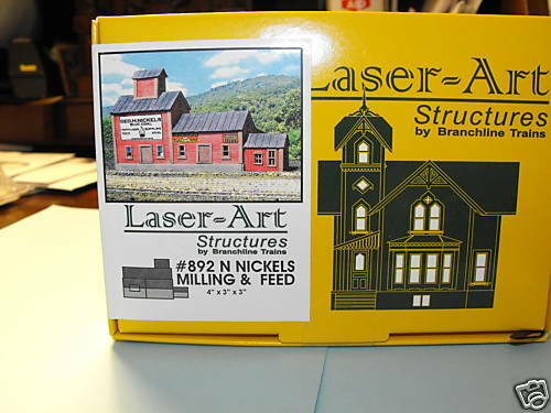 NICHOLS MILLING & FEED N SCALE by laser art structures