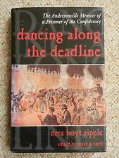 Dancing Along Deadline Andersonville Memoir Prisoner Confederacy Civil War ACW
