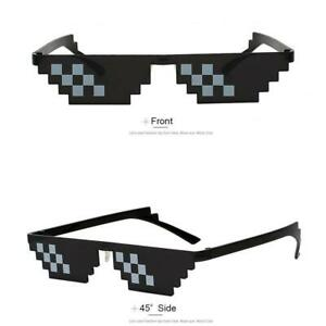 Thug Life Pixel Neuheit Sonnenbrille