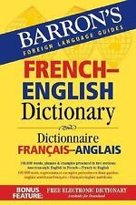 Barron's French-English Dictionary: Dictionnaire Francais-Anglais (Barron's
