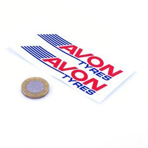 Avon-Tyres-Stickers-Classic-Car-Motorbike-Racing-Vinyl-Decals-100mm-x2