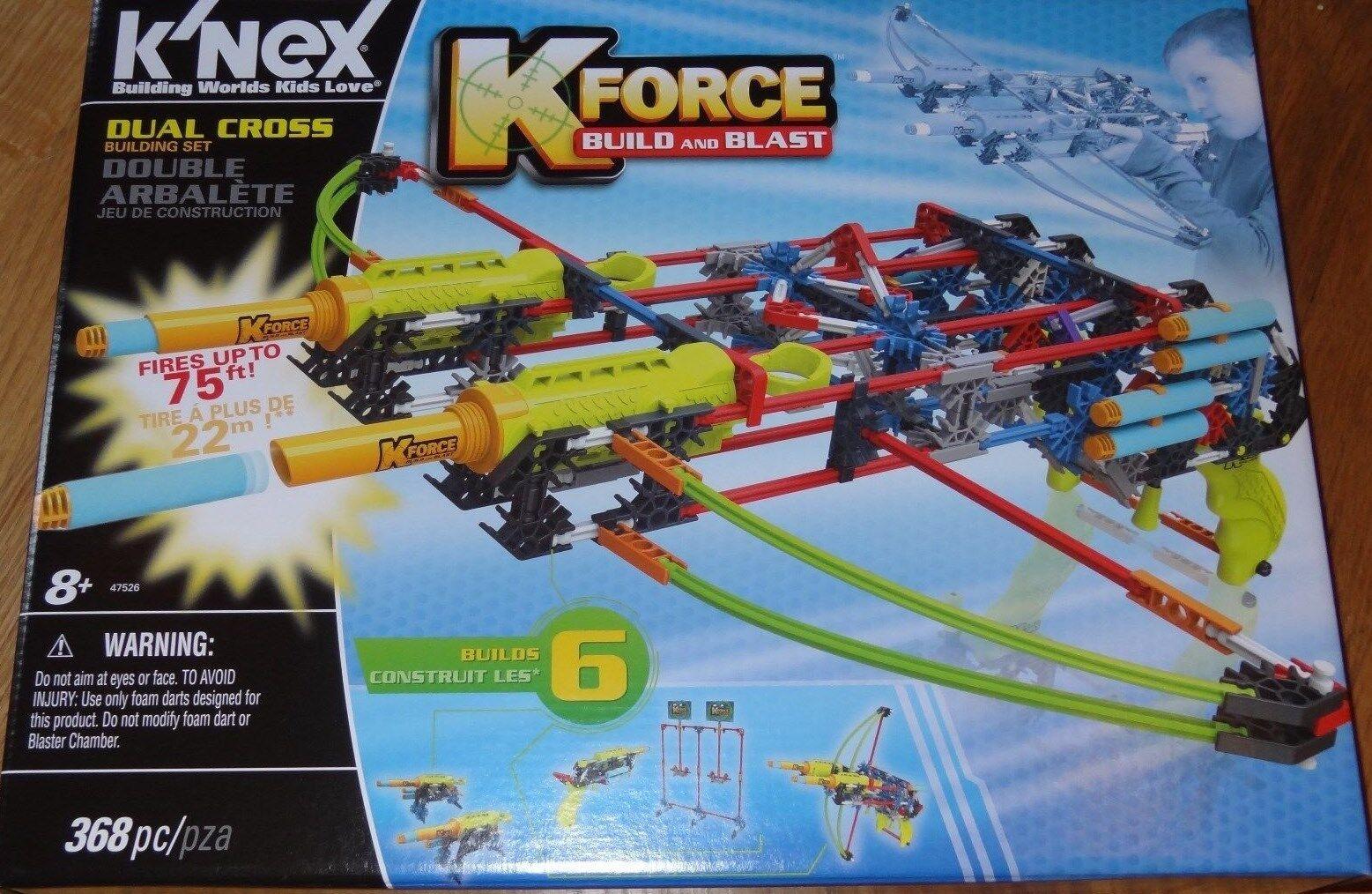 K'NEX Dual Cross K Force Building Set Construction Toy KNEX 47526