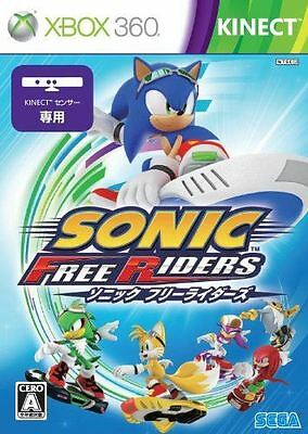 Used Xbox360 Sonic Free Riders Japan Import