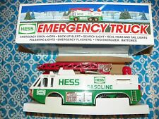 NEW In Box 1996 Hess Truck Emergency Truck HESS Gas - Toy Truck - Vintage