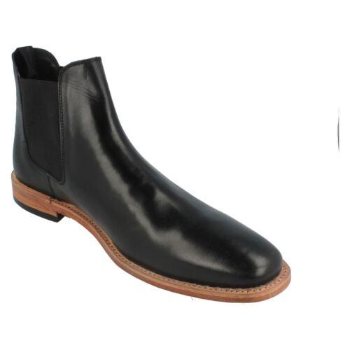 Harrykson Chelsea Mens Black Mh3013b Boots Pull On vddnqg