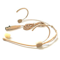 Microdot 4015 Headset Head-mounted Headworn Microphone For SHURE Wireless System