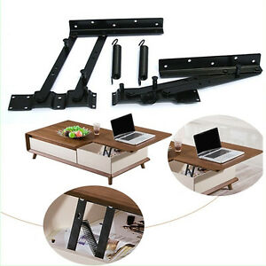 Shop For Cheap New Hot Sales Lift Up Top Coffee Table Hardware Fitting Furniture Mechanism Spring Hinge Tea Table Bracket Furniture