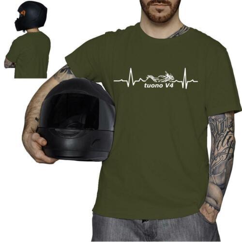 tuono V4 Motorcycle Motorcycle Motorbike Biker pulse beat T-Shirt