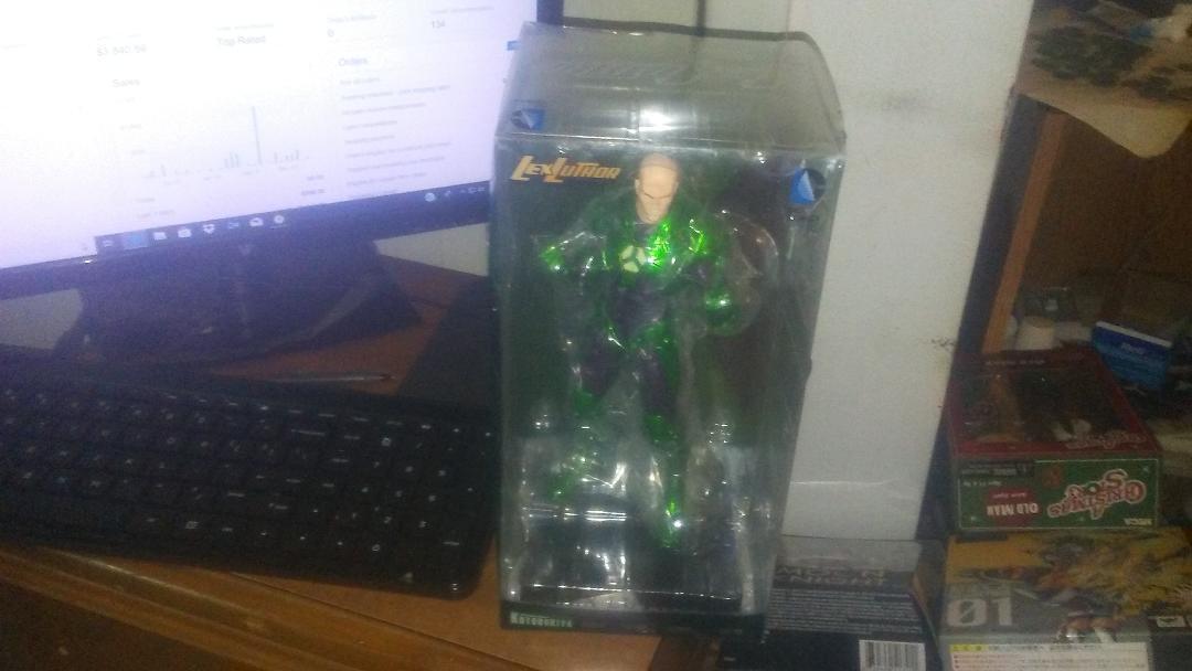 Dc comics lex luthor artfx + 1   10 scale - statue abbildung kotobukiya superman