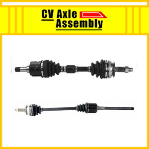 AWD Front Pair CV Axle Driver/&Passenger 2 PCS For 1997-04 CHRYSLER TOWN/&COUNTRY