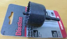 """Disston 1-3/4"""" (44mm) Hole Saw Hole Cutter for Wood & Plastic"""