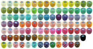 10-x-42m-Circulo-TORCAL-Perle-5-Crochet-Embroidery-Thread-message-me-Codes