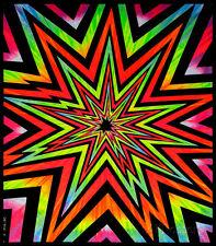 Cosmic Blast Blacklight Tapestry Fabric Poster Print, 23x28