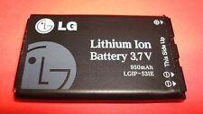 Original 950mAh OEM  LG LGIP-531E for LG KM550/KF245/KM385/KM386/KT520/KT525