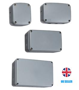 Weatherproof Junction Box Case IP66 Waterproof Outdoor Garden Industrial PVC