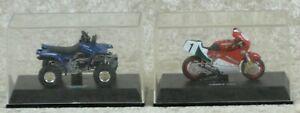 NewRay-Set-Motorrad-Ducati-750F1-und-Quad-Yamaha-Warrior-M-1-32