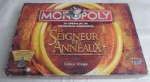 Jeu-de-societe-Monopoly-Le-Seigneur-des-Anneaux-Edition-Trilogie-Incomplet