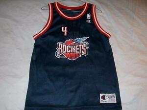 quality design d1ff2 8db92 Details about Charles Barkley 4 Houston Rockets NBA Blue Champion Jersey  Boy's XL 18-20 used