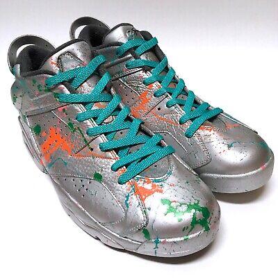 best authentic 8e3f7 a645b Air Jordan VI 6 Retro Low Men's Size 12 Custom Old School San Antonio Spurs  Shoe | eBay