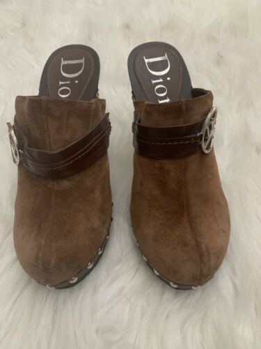 Authentic Dior Clogs FLAWED