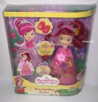 Strawberry Shortcake Scented Berry Sparkling Charms Doll Brand In Box Sealed